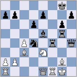 Agadzhanyan - Faibisovich, USSR 1977 chess