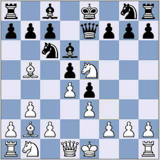 Nimzo Larsen chess opening Clive Waters vs. Roger Coathup