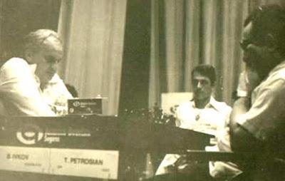 Tigran Petrosian Boris Ivkov Chess 1979