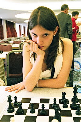 Sophie Seeber chess  eyes