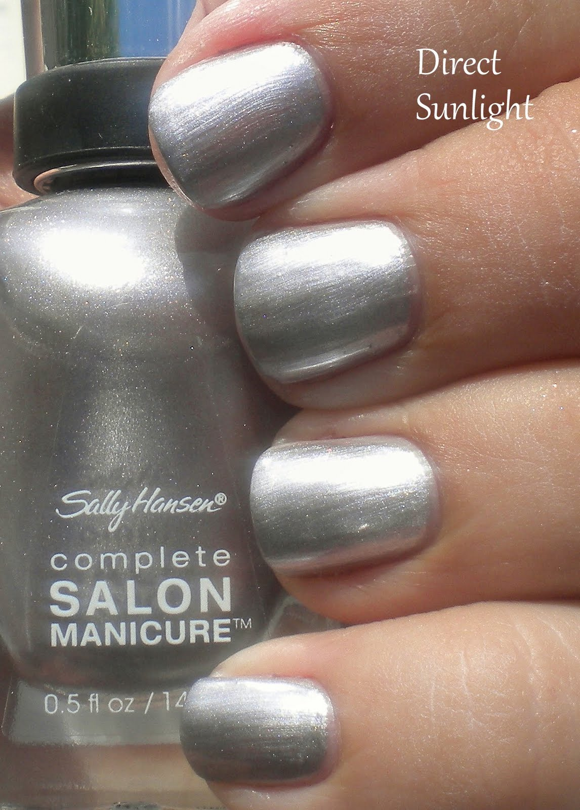 Nail polish addiction anonymous sally hansen pedal to the for Salon manicure