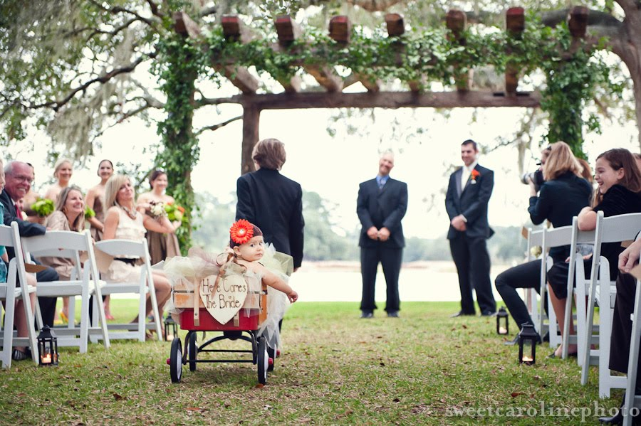 Barrister Bride - the Bee: 2 flower girls and a ring bearer