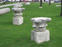 Roman Byzantine Remains next to Beyazit Towers