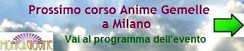 Prossimo corso Anime Gemelle a Milano