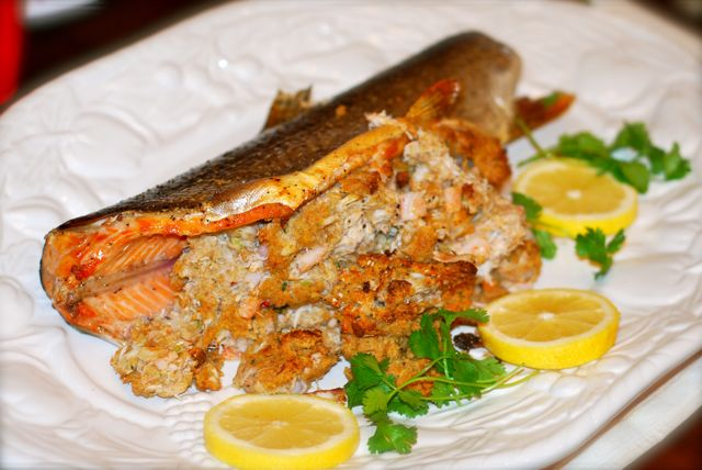 how to cook a 2lb trout in oven