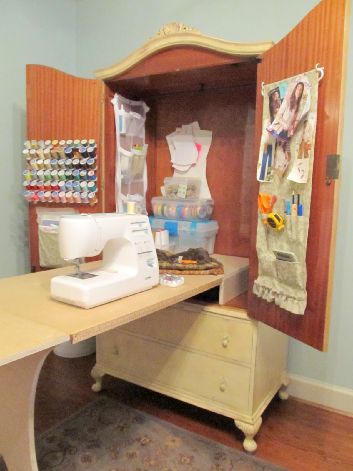 Sewing Armoire Diy
