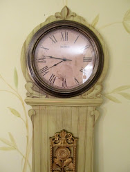 Trompe L&#39;oeil Grandfather Clock