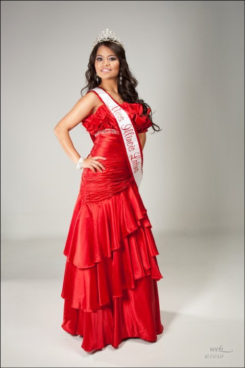 Cynthia Jaramillo, Miss Illinois Latina placed top 10 in Miss US ...