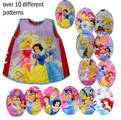 Water Babies Disney on Gobok Buruk   Sold Out  Disney Princess Baby Bip Apron   Assorted