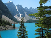 Moraine Lake in Banff National Park. I have only been to Calgary twice, . (rockymoraine lake banff national park)
