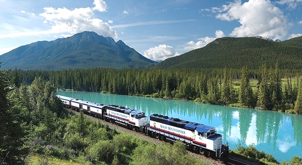 Art And Architecture Mainly Rocky Mountaineer Train