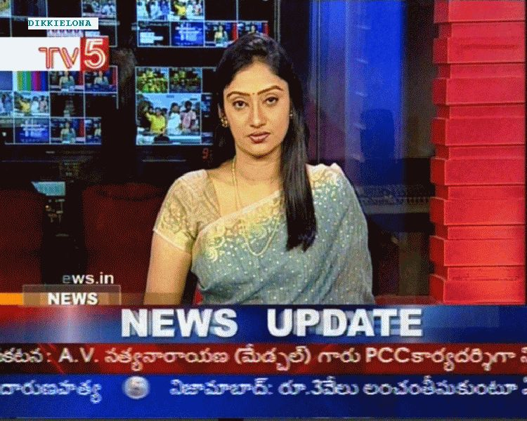 Tollywood Aunties and Actresses: TV5 Anchor Kalyani Hot TV