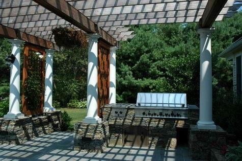 Muebles y decoraci n de interiores p rgolas para jardines - Decoracion de pergolas ...