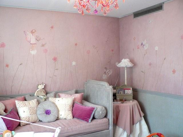 Murales decorativos para cuartos infantiles decorando mejor Murales para recamaras matrimoniales