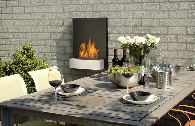 Muebles y decoraci n de interiores estufas de exterior for Decoracion de interiores jardines de invierno