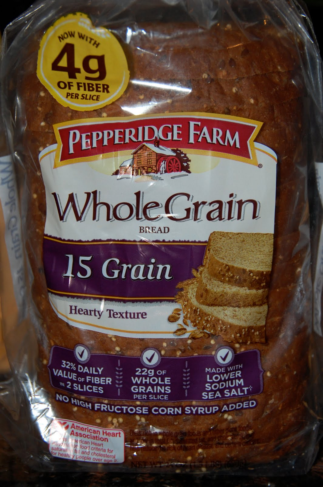 Farm Whole Grain Bread Ingredients Farmhouse whole wheat bread ...