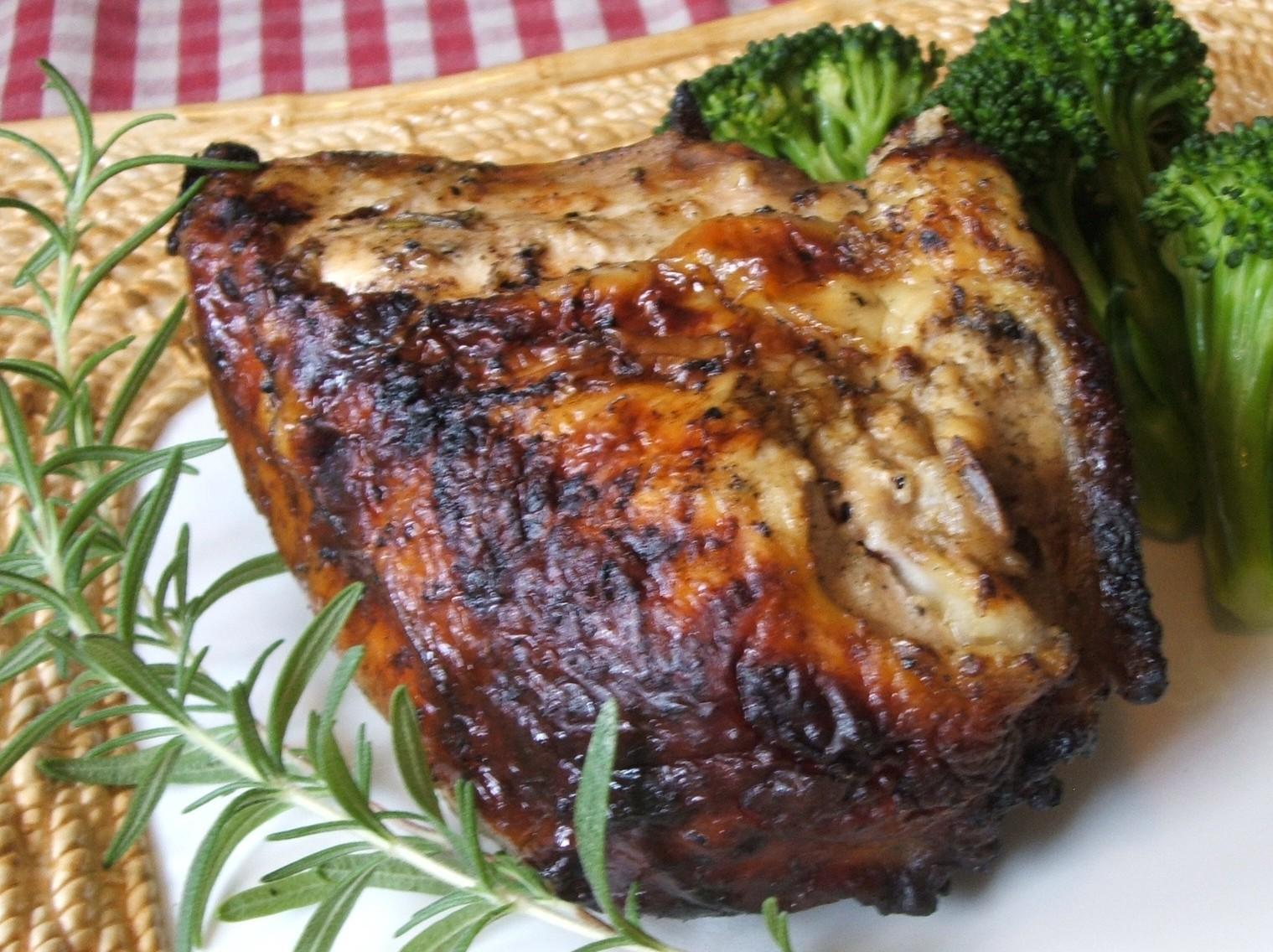 ... Pantry: Grilled Yogurt, Garlic, & Rosemary Marinated Chicken
