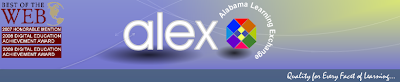 Alabama Learning Exchange header on website