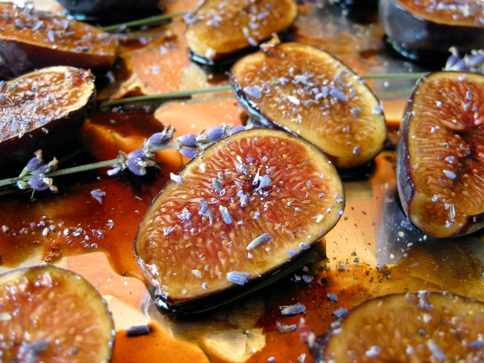 My Own Sweet Thyme: Honey Lavender Roasted Figs