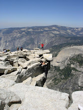 Wes on halfdome