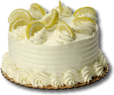 A delicious Christmas Lemon Cream Cake