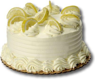 A delicious Christmas Lemon Cream Cake
