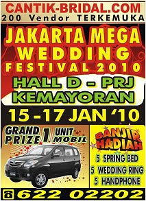 Event penuh warna di  Januari 2010