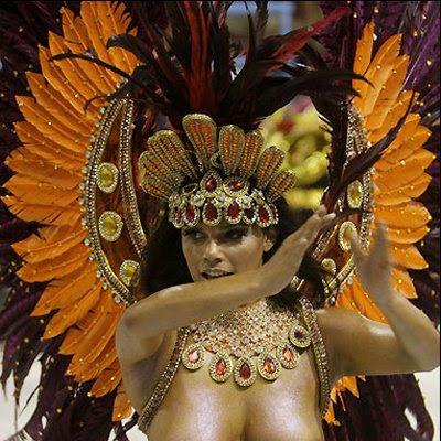 Viviane Castro Nude Naked Brazil Carnival Video