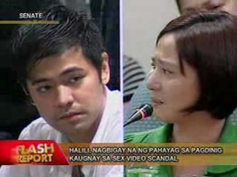 Hayden Kho Katrina Halili Video Scandal Senate Hearing