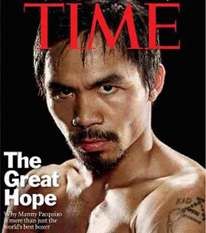 time magazine covers 1986. Manny Pacquiao Time Magazine