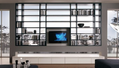 Wall Units Ideas-Modern Living Rooms Wall Units