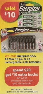 energizer CVS Deals and Scenarios 11/23 11/29