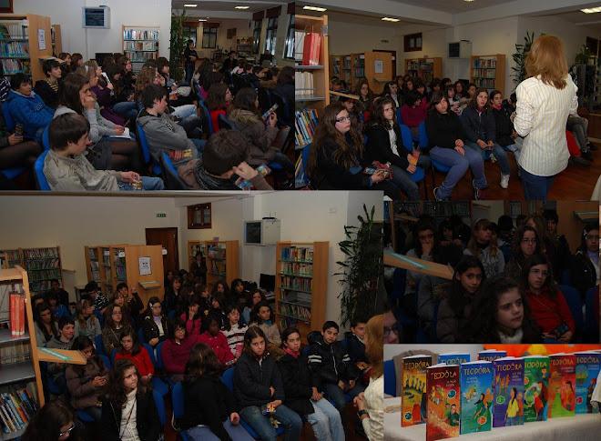 Visita à Escola Silva Gaio em Coimbra (5 de Março)