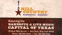 Hill Country restaurant