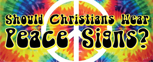 Surrendered Should Christians Wear Peace Signs