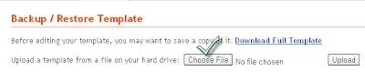 Blogger Template File