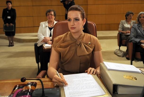 Lalla Salma lors de la 4ème réunion du Conseil Supérieur de l