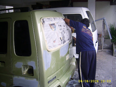 CET MOBILLE BODY REPAIR: OVER SPET TOTAL SUZUKI KARIMUN