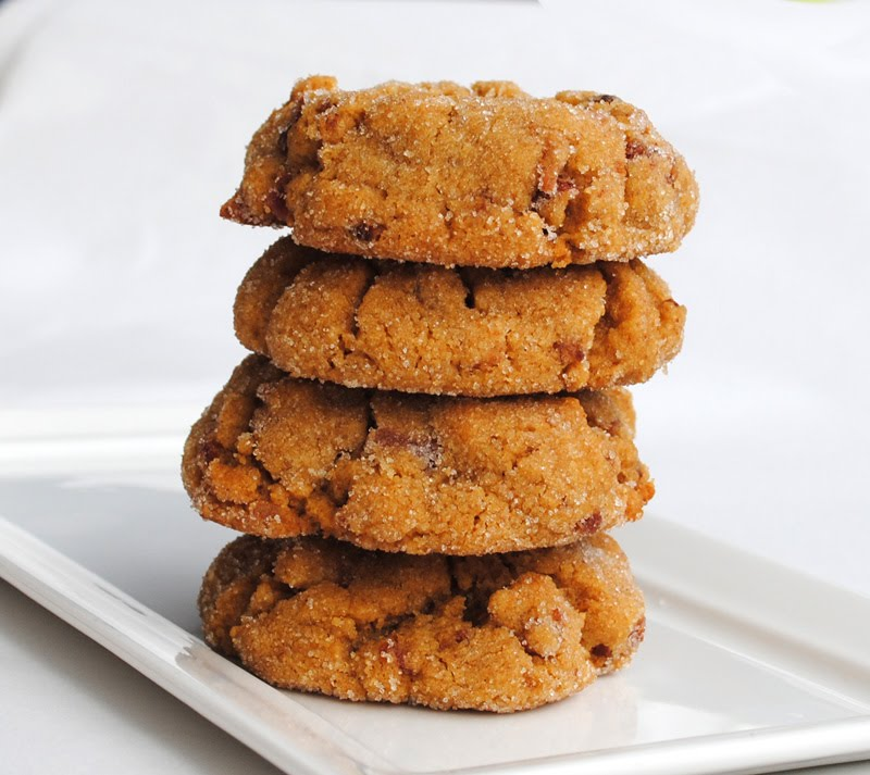 Leanne bakes: Peanut Butter Bacon Cookies