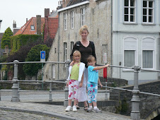 My girls and I in Brugge, Belgium