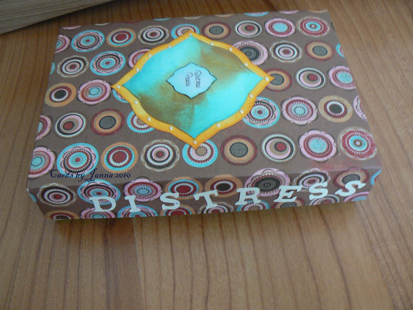 Cards by janna opruimen distress inkt pads - Hoe zij haar werkplan kiezen ...