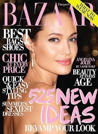 Harper's Bazaar Julho 2009-Angelina Jolie