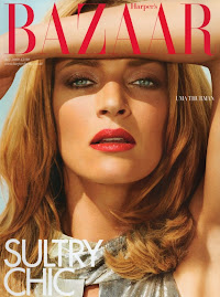 Harper's Bazaar UK- Uma Thurman