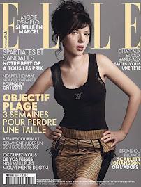 Elle Francesa Julho 2009-Scarlett Johansson