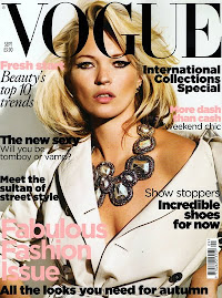 Vogue Britânica Set 2009-Kate Moss