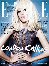Elle Brtitânica Outubro 2009-Lily Allen