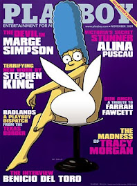 Playboy Americana Nov 2009-Marge Simpson