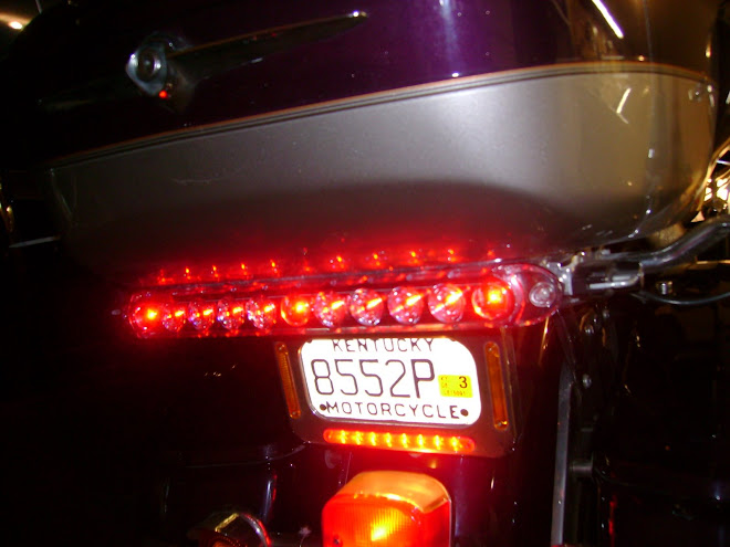 CLEAR R-Mark® LED Brake-Running Light Kit
