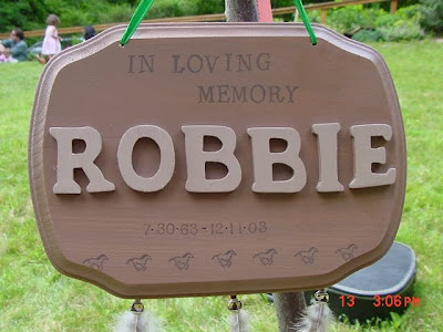 Robbie would have been 46. Happy Birthday, friend. I still feel you around.