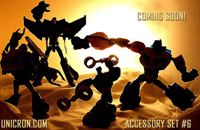 Unicron.com Fan-made TF Animated accessory set